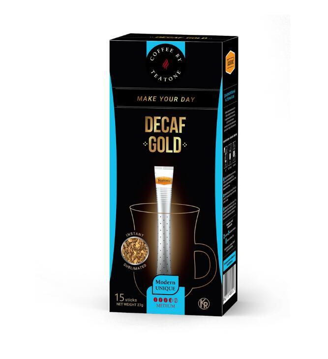カフェインレスレスコーヒー 開店祝い ロシア お土産 プレゼント ☆国内最安値に挑戦☆ TEATONE 賞味期限間近のため割引中 カフェインレスコーヒー