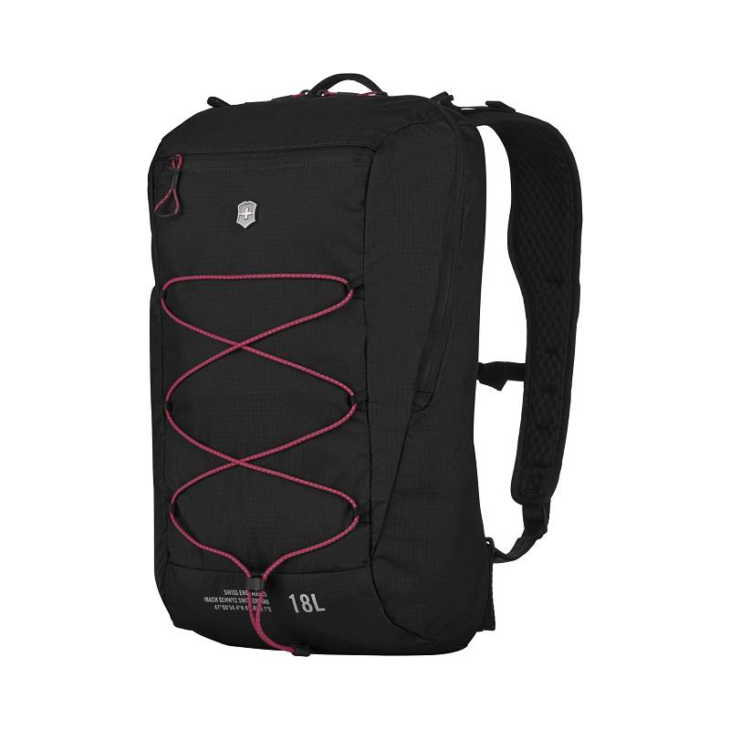 VICTORINOX(ビクトリノックス)公式 Altmont / アルトモントアクティブ ライトウェイト コンパクトバックパック 18L(ブラック)【日本正規品】606899 カバン 鞄 BAG リュック バッグ