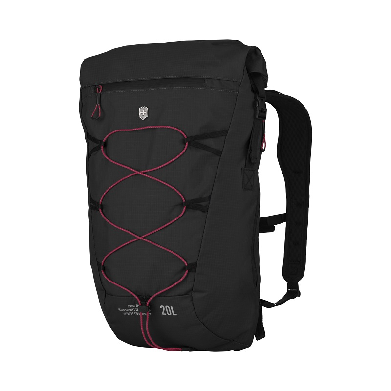 VICTORINOX(ビクトリノックス)公式 Altmont / アルトモントアクティブ ライトウェイト ロールトップバックパック 20L(ブラック)【日本正規品】606902 カバン 鞄 BAG リュック バッグ