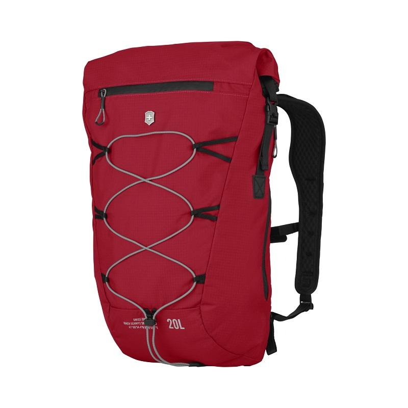 VICTORINOX(ビクトリノックス)公式 Altmont / アルトモントアクティブ ライトウェイト ロールトップバックパック 20L(レッド)【日本正規品】606903 カバン 鞄 BAG リュック バッグ