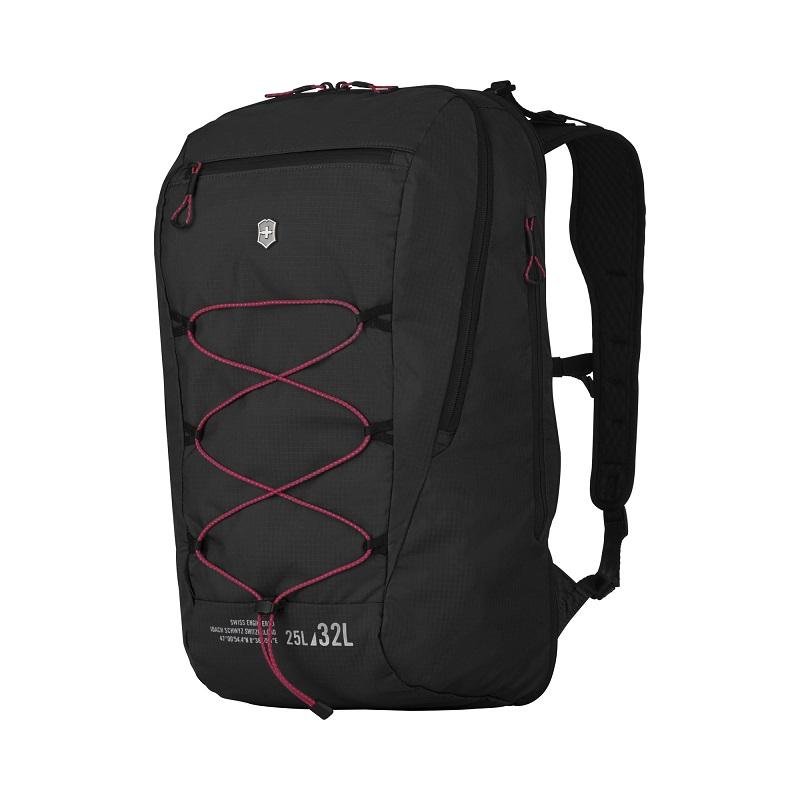 VICTORINOX(ビクトリノックス)公式 Altmont / アルトモントアクティブ ライトウェイト エキスパンダブルバックパック 25-32 L(ブラック)【日本正規品】606905 カバン 鞄 BAG リュック バッグ