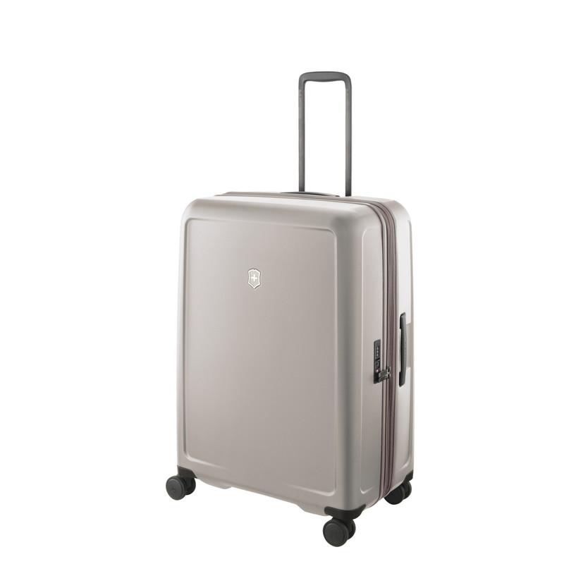 VICTORINOX(ビクトリノックス)公式 CONNEX / コネックス ラージ ハードサイドケース(グレー) 約 107-121 L ビジネスバッグ ブリーフケース 軽量 旅行 大容量【日本正規品】605673
