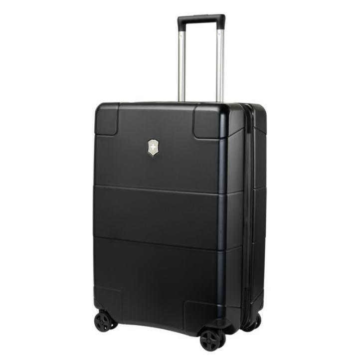 VICTORINOX(ビクトリノックス)公式 Lexicon / レキシコン ミディアムハードサイドケース(ブラック) 約73L ビジネスバッグ ブリーフケース 軽量 旅行 大容量 【日本正規品】602105