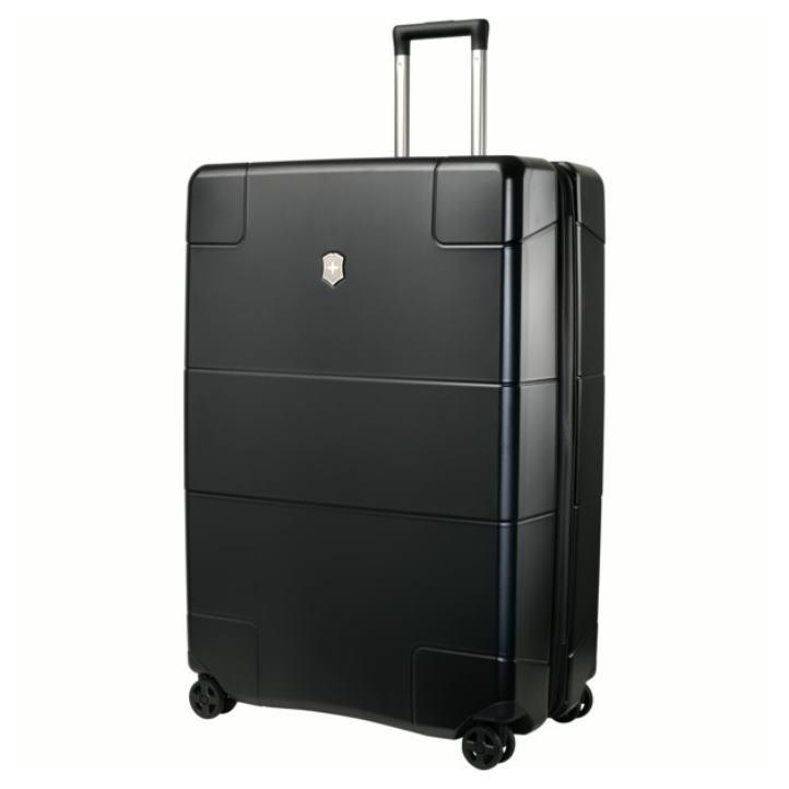 VICTORINOX(ビクトリノックス)公式 Lexicon / レキシコン エクストララージ ハードサイドケース(ブラック) 約125L ビジネスバッグ ブリーフケース 軽量 旅行 大容量 【日本正規品】602109