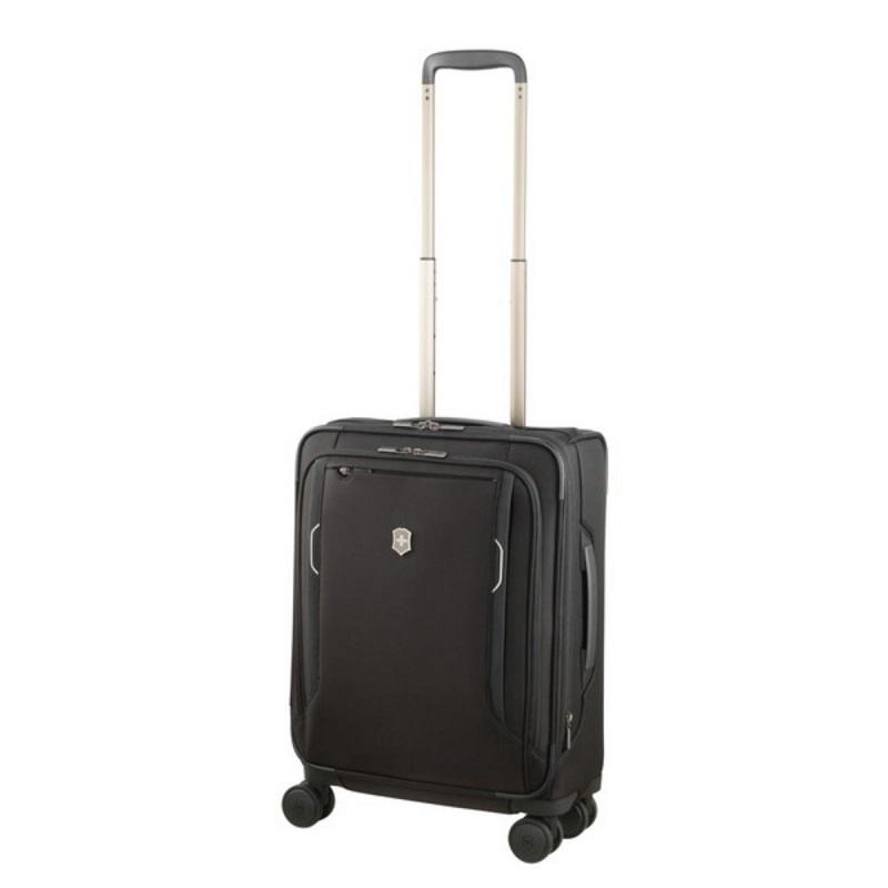 VICTORINOX(ビクトリノックス)公式 Werks Traveler ワークストラベラー 6.0 ソフトサイド グローバルキャリーオン ブラック【日本正規品】605402 拡張機能 スーツケース