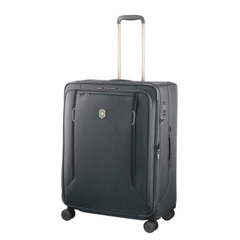 VICTORINOX(ビクトリノックス)公式 Werks Traveler ワークストラベラー 6.0 ソフトサイド ラージケース グレー【日本正規品】605413 拡張機能 ソフトケース L