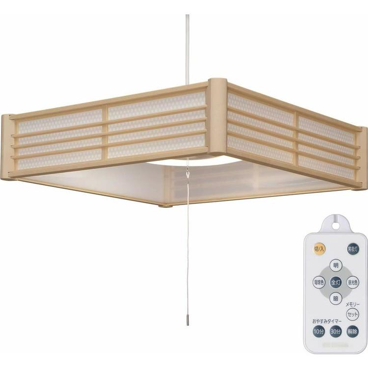 【2個セット】和風ペンダントライト メタルサーキットシリーズ 6畳 調色 PLM6DL-KG PLM6DL-SK 籠目 青海波送料無料 LEDペンダントライト LEDライト ペンダントライト LED照明 LED 照明 和風 和室 和モダン 和風ライト おしゃれ 調光 リモコン アイリスオーヤマ