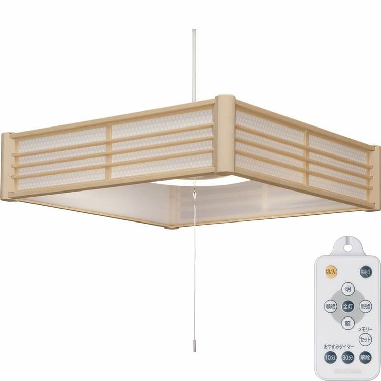 【2個セット】和風ペンダントライト メタルサーキットシリーズ 8畳 調色 PLM8DL-KG PLM8DL-SK 籠目 青海波送料無料 LEDペンダントライト LEDライト ペンダントライト LED照明 LED 照明 和風 和室 和モダン 和風ライト おしゃれ 調光 リモコン アイリスオーヤマ
