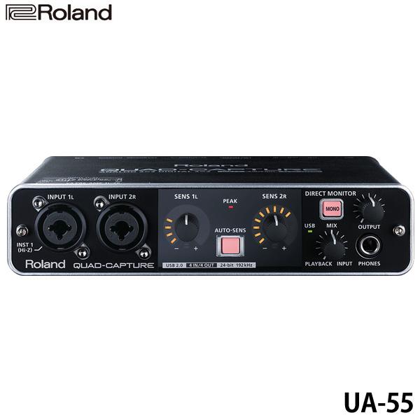 【】ローランド〔Roland〕USBオーディオインターフェースQUAD CAPTURE UA-55【TC】【KM】【取寄品】 新生活:Life&Design VIDA