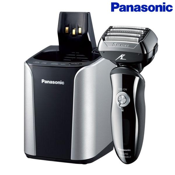 【送料無料】Panasonic〔パナソニック〕メンズシェーバー 5枚刃 ラムダッシュ≪国内・海外兼用≫ ES-LV92-K【D】【DW】【取寄品】