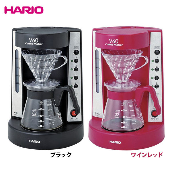 一番の 【送・ソ無料】HARIO〔ハリオ〕 V60 珈琲王コーヒーメーカー EVCM-5 ブラック・ワインレッド【KM】【D】 新生活, 谷岡の甘栗@静岡こだわりグルメ館 20dfee31