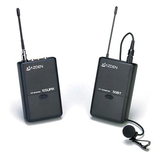 AZDEN 105LT UHF B型 ワイヤレスマイクロホンシステム