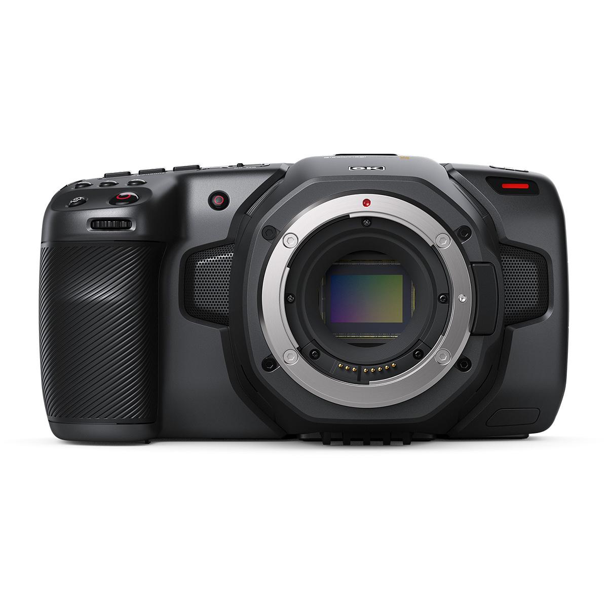 《新品》【送料無料、在庫あり!Blackmagic Design正規特約店です】Blackmagic Pocket Cinema Camera 6K 6Kデジタルフィルムカメラ(レンズ別売)