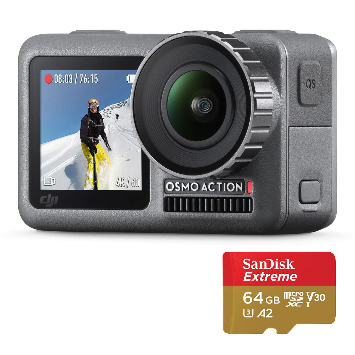 《新品》DJI Osmo Action+microSDカード 64GB アクションカメラ