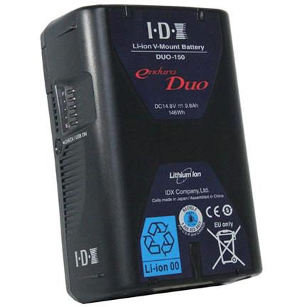 IDX DUO-150 Vマウントタイプ リチウムイオンバッテリー