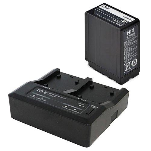 IDX SL-VBD50+LC-2A 7.4Vバッテリー・充電器セット