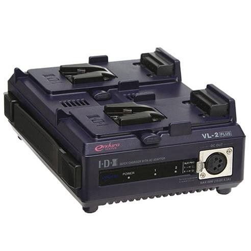 《新品》【送料無料、在庫あり!】IDX VL-2PLUS ACアダプター機能付2ch順次急速充電器