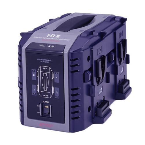 IDX VL-4S 4ch同時急速充電器