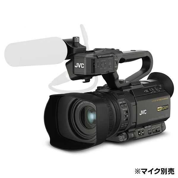 《新品》【送料無料、在庫あり!JVC業務用正規取扱販社です】JVC GY-HM250BB 4Kメモリーカードカメラレコーダー