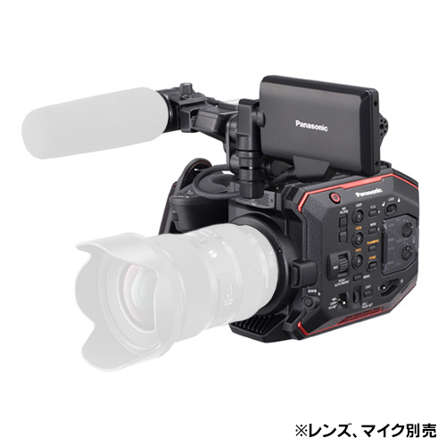 《新品》【送料無料、在庫あり!Panasonic正規特約店です】Panasonic AU-EVA1 4Kメモリーカード・カメラレコーダー(レンズ別売)