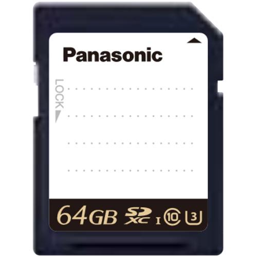 《新品》【送料無料、在庫あり!Panasonic正規特約店です】Panasonic RP-SDUE64DVX 業務用SDメモリーカード 64GB