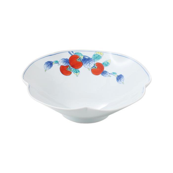 52628 柿絵 五方なぶり菓子鉢