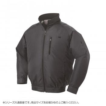 NA-301C 空調服 充黒セット 3L チャコールグレー ポリ タチエリ 8119126