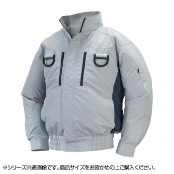 NA-113 空調服フルハーネス (服 4L) シルバー/チャコール チタン タチエリ 8209432