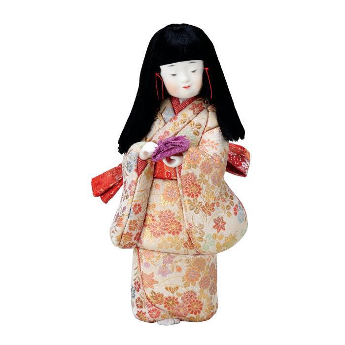 01-783 木目込み人形 おけいこ(B) 完成品