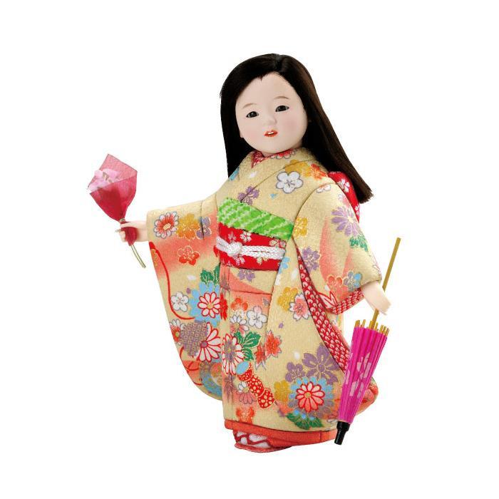 01-724 木目込み人形 みちくさ 完成品