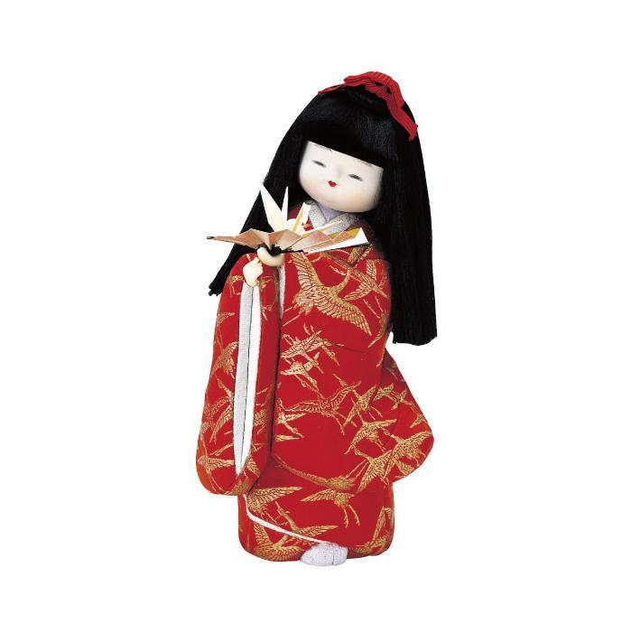 01-272 木目込み人形 嫁ぐ日の夢 完成品