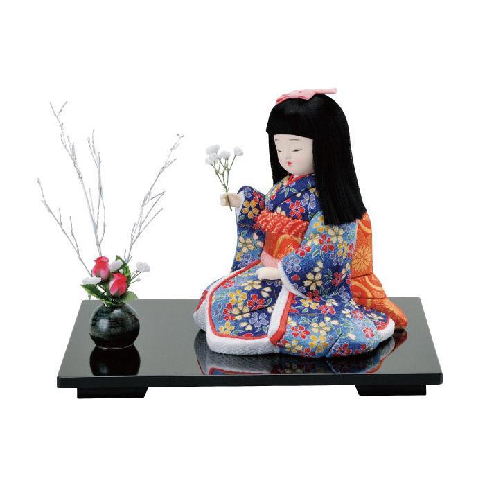 01-393 木目込み人形 花てまえ 完成品