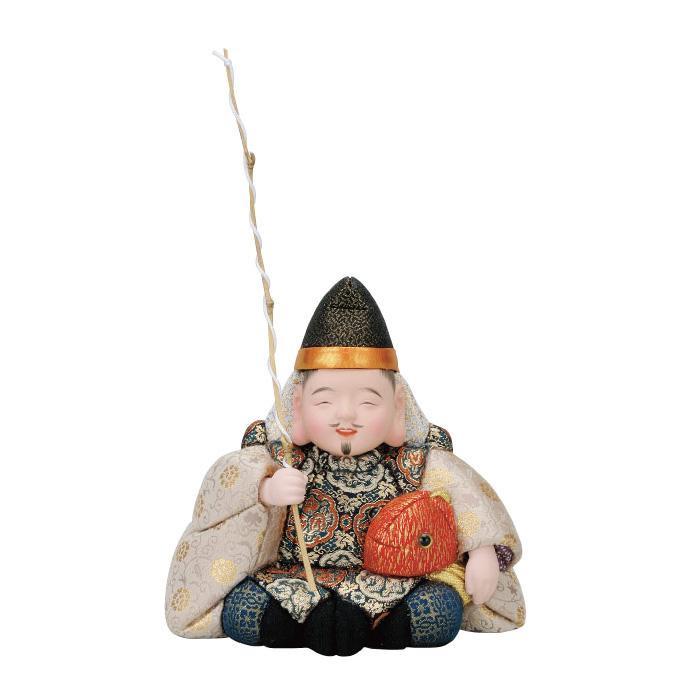 01-663 木目込み人形 祝い恵比寿 セット