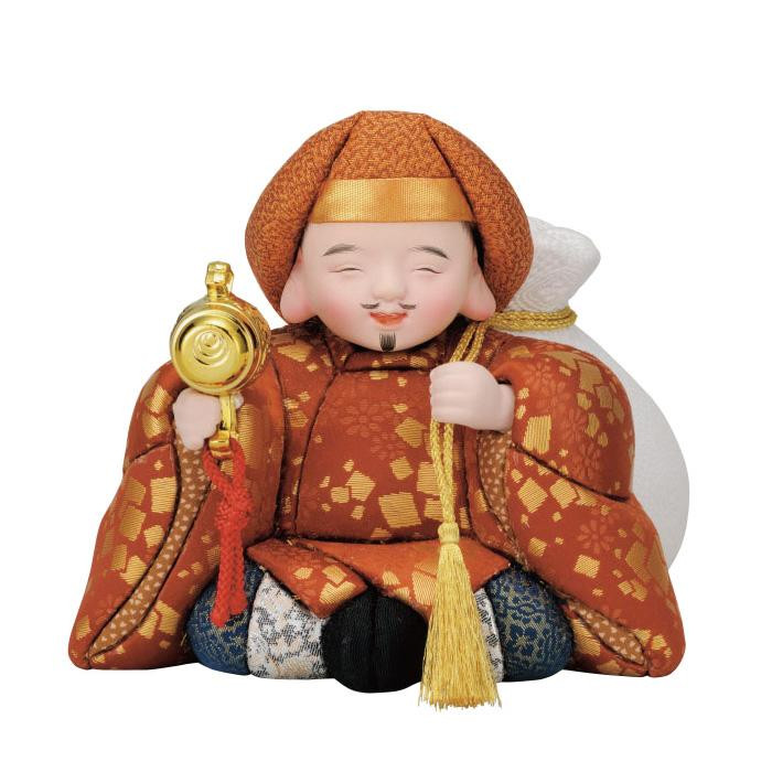 01-664 木目込み人形 祝い大黒 セット