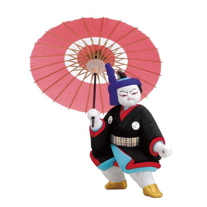 01-646 木目込み人形 助六(大) セット