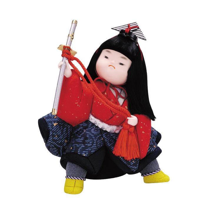 01-487 木目込み人形 勝どき 完成品