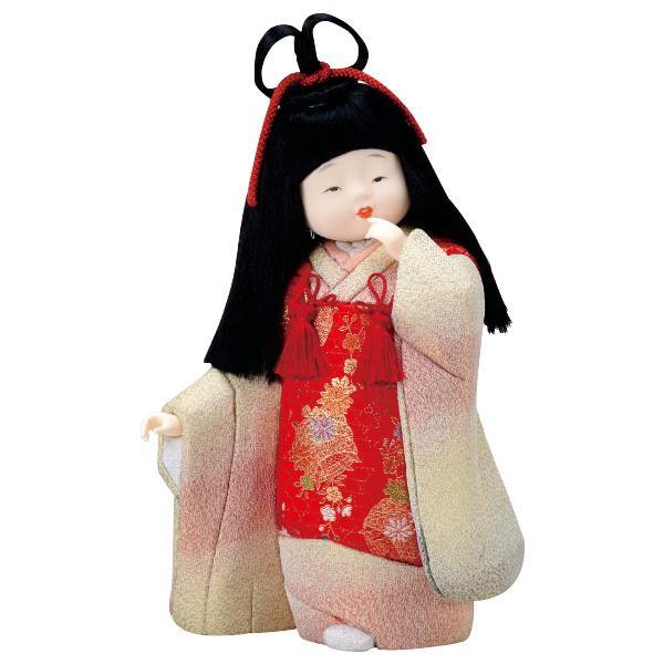 01-346 木目込み人形 晴着 完成品