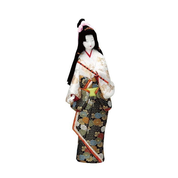 01-166 木目込み人形 笛 完成品