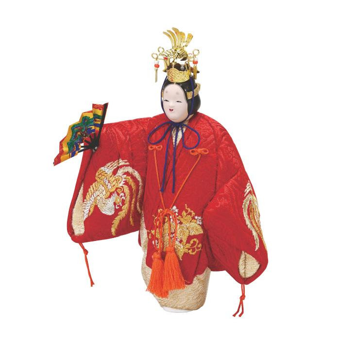 01-886 木目込み人形 能羽衣 セット