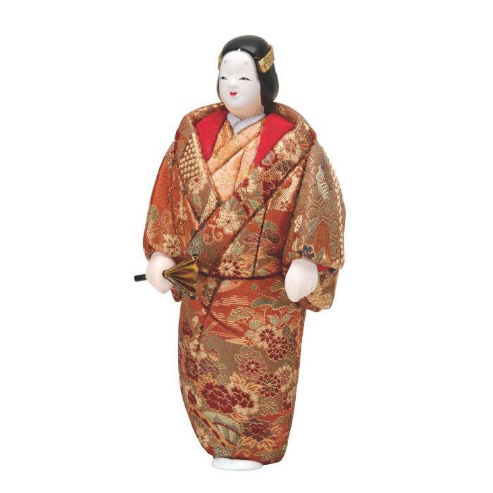 01-887 木目込み人形 能熊野 セット