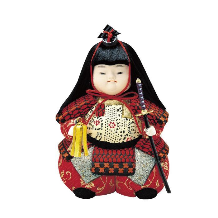 01-446 木目込み人形 武者わらべ(小) 完成品