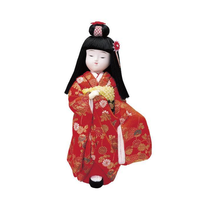 01-385 木目込み人形 舞妓さん 完成品