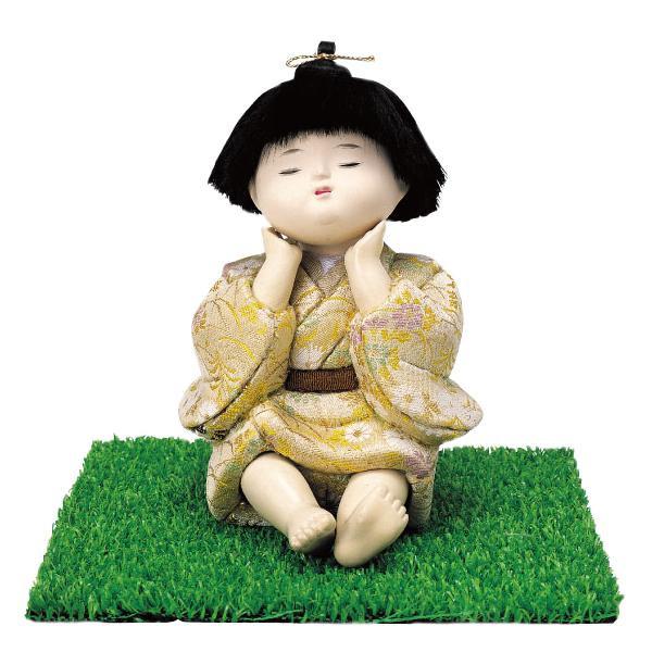 01-381 木目込み人形 夢 完成品