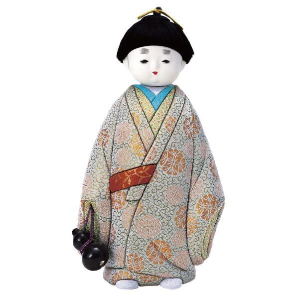 01-191 木目込み人形 無我(大) 完成品