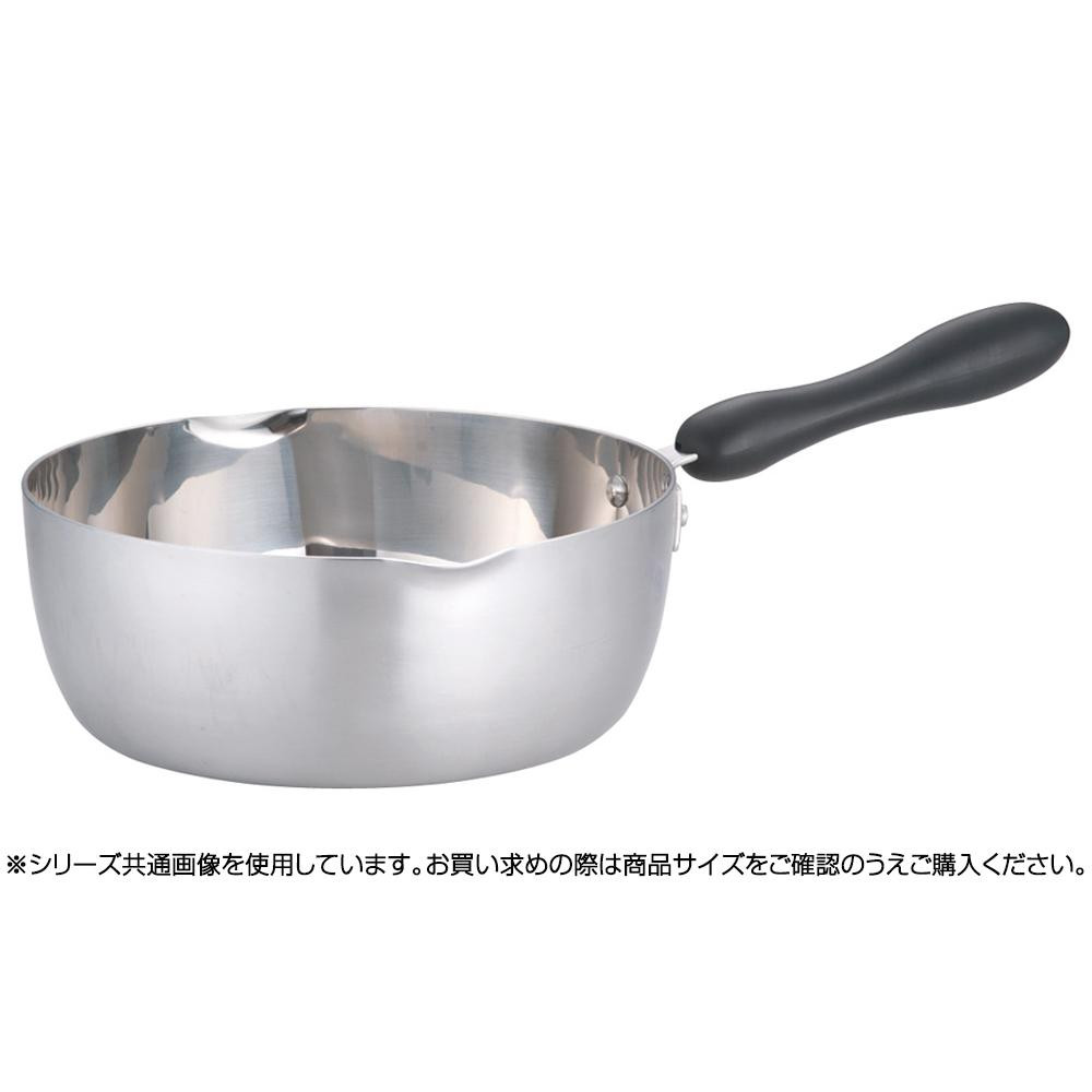 遠藤商事 TKG クラッド プラ柄雪平鍋 24cm AYK8103 6-0047-0103