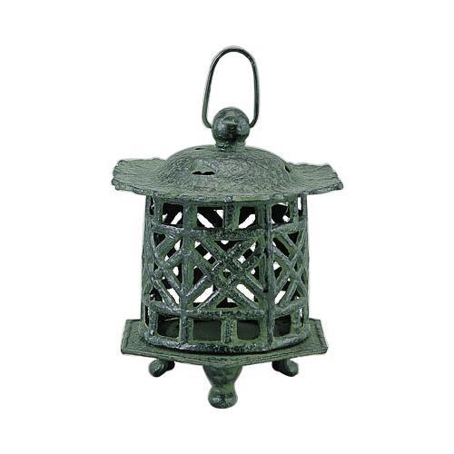高岡銅器 吊燈篭 利久 クサリ付 172-06