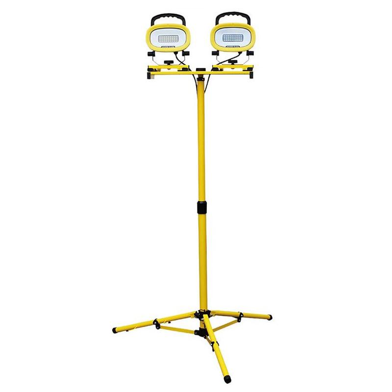 POWER GLOW 3in1 スタンド2灯式LED投光器 EKS0337JS-2