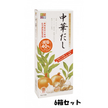 四季彩々 中國湯 48 g (6 g x 8 袋) 6 盒套裝
