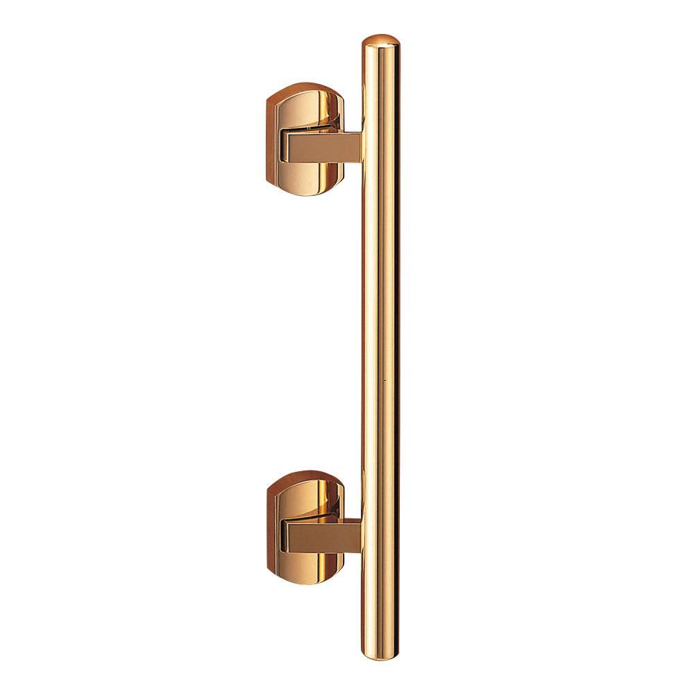 プッシュプルハンドル 甲丸丸棒 ステンレス・真鍮 SPP-3 金