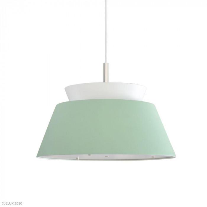 ELUX(エルックス) LARSEN(ラーセン) 3灯ペンダントライト グリーン×ホワイト LC10928-GRWH